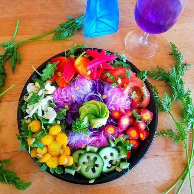 «Лапша єдинорога» - новий кулінарний тренд в мережі (22 фото)