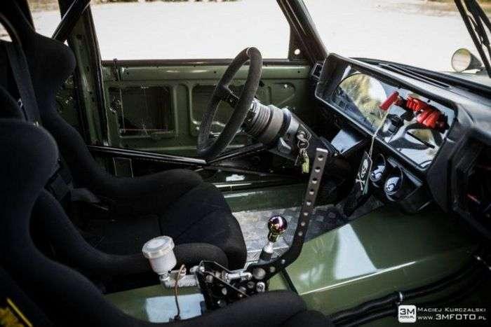 Автомобіль для дріфту на базі ВАЗ-2107 (7 фото)