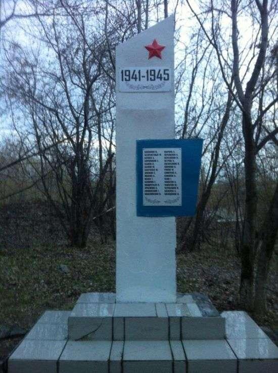 Волонтери відновили памятник до Дня Перемоги (4 фото)