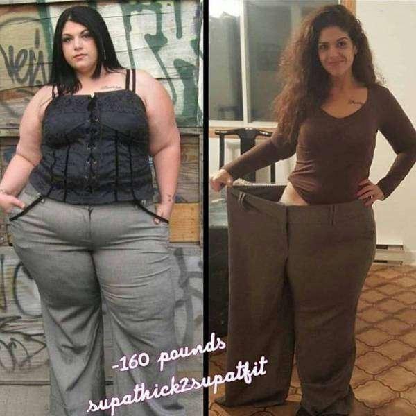 Люди, які зуміли побороти зайву вагу (31 фото)